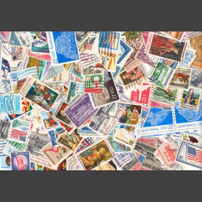 United States - Collection of 400 Different Used Stamps (Lot 1)
