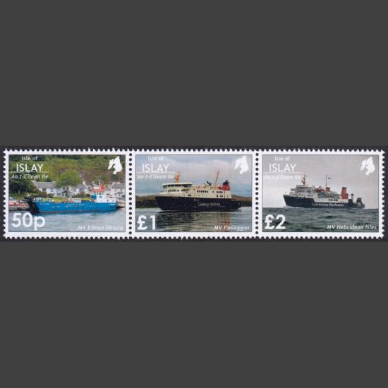 Islay 2019 Ferries (3v, 50p to £2, U/M)
