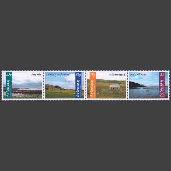 Colonsay 2019 Colonsay Landscapes (4v, 25p to £1, U/M)