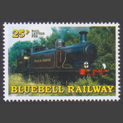 Bluebell Railway 1998 25p Centenary of Birch Grove (U/M)