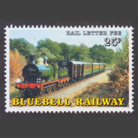 Bluebell Railway 2000 25p 40th Anniversary of the Bluebell Railway (U/M)
