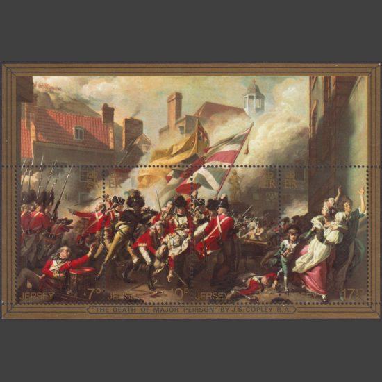 Jersey 1981 Bicentenary of Battle of Jersey Miniature Sheet (SG MS248, U/M)