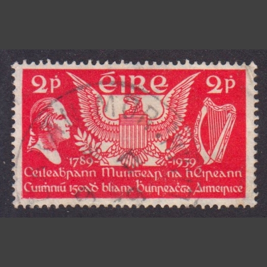 Ireland 1939 2d 150th Anniversary of US Constitution (SG 109, Good Used)
