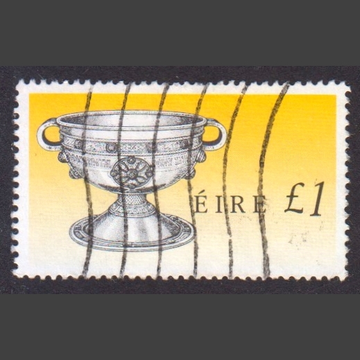 Ireland 1990 £1 Irish Heritage Definitive (SG 763, Good Used)