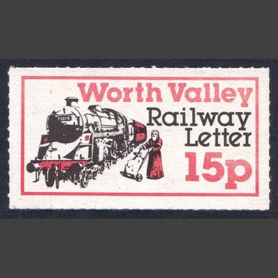 Keighley & Worth Valley Railway 1979 15p Christmas (U/M)