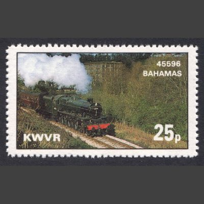 Keighley & Worth Valley Railway 1980 25p Bahamas Locomotive Society (U/M)