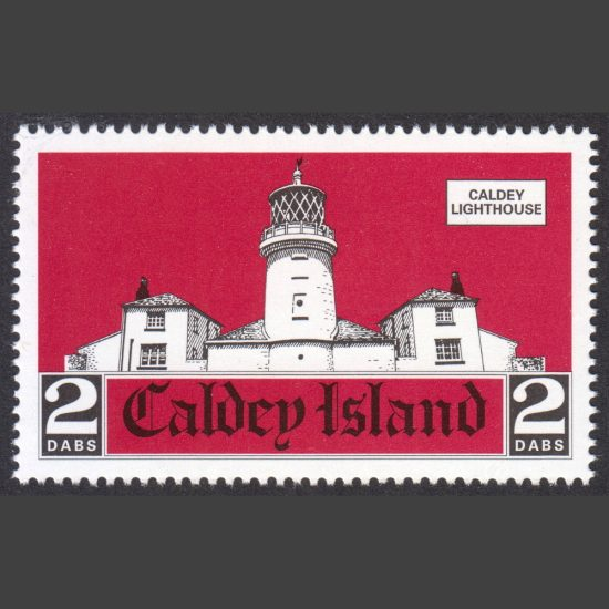 Caldey Island 2001 Lighthouse Issue (2 Dabs, U/M)