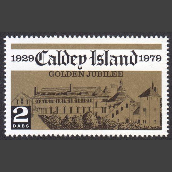 Caldey Island 1980 Caldey Abbey (2 Dabs, U/M)