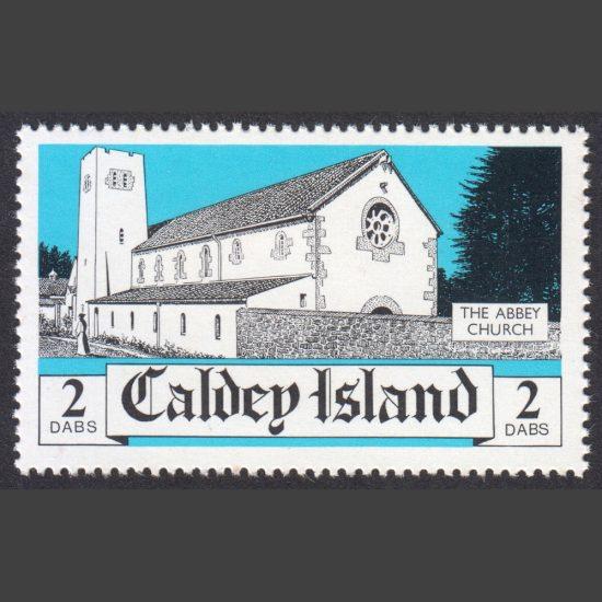 Caldey Island 1982 Abbey Church (2 Dabs, U/M)