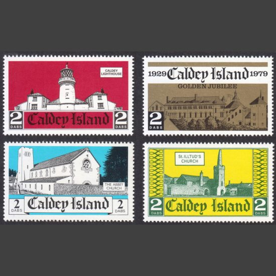 Caldey Island 1976-2001 Collection of Four Stamp Issues (U/M)