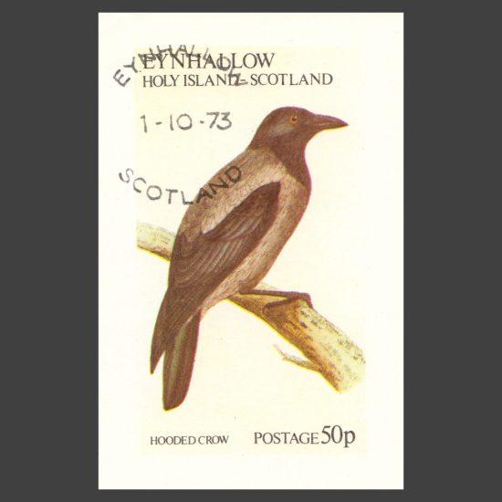 Eynhallow / Holy Island 1973 Birds Sheetlet (50p)