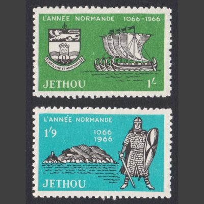 Jethou 1966 Norman Year Part Set (2v, 1s and 1s9d, U/M)