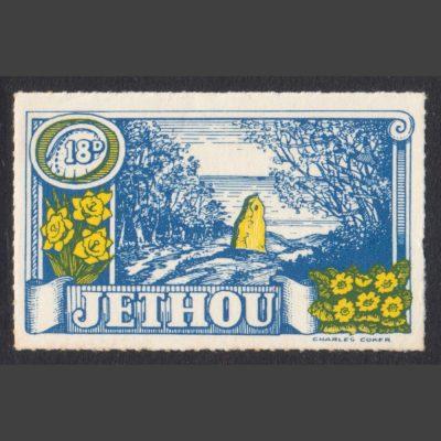 Isle of Jethou 1960 18d Jethou Scenes (U/M)
