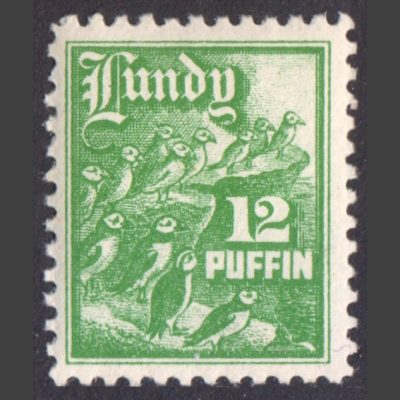 Lundy 1930 12p High Value Definitive (U/M)