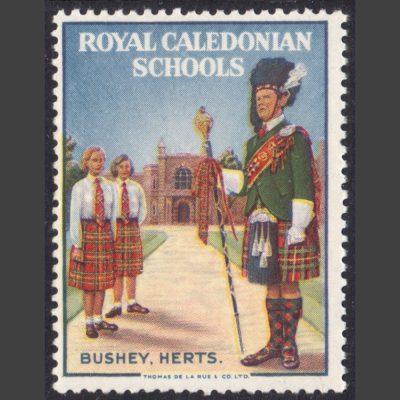Royal Caledonian Schools Poster Stamp (U/M)
