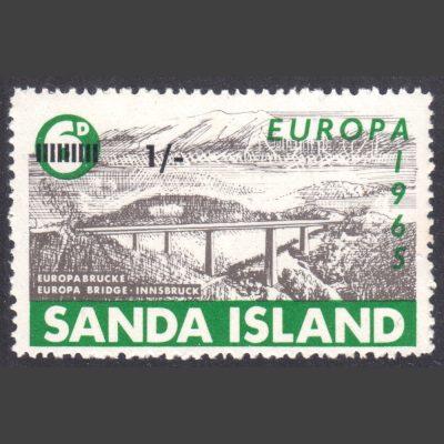Sanda Island 1965 1s Europa Stamp (U/M)