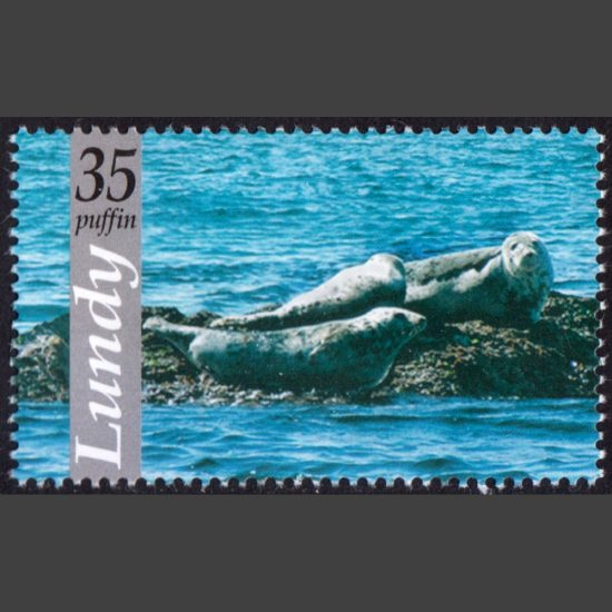 Lundy 2010 Lundy Wildlife - Grey Seals (35p - single value, U/M)