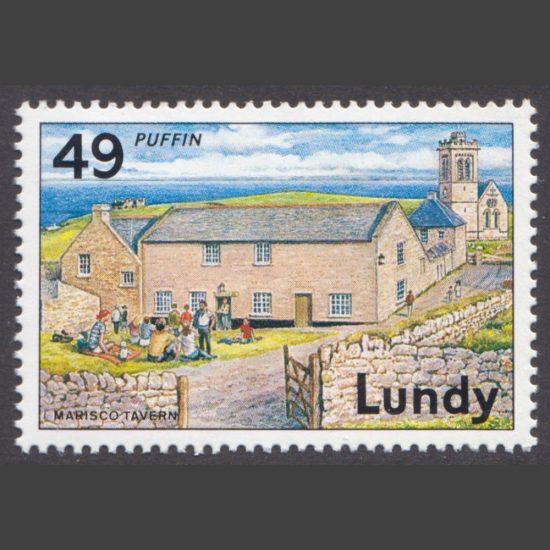 Lundy 1992 49p Discover Lundy - Marisco Tavern (U/M)