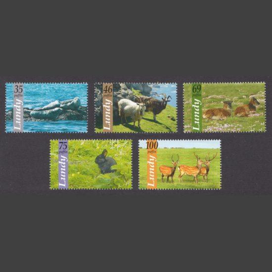 Lundy 2010 Lundy Wildlife (5v, 35p to 100p, U/M)