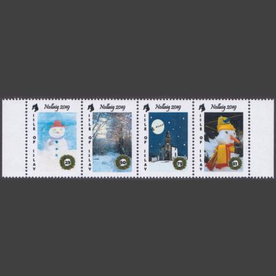 Islay 2019 Christmas (4v, 25p to £1, U/M)