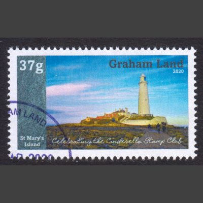 Graham Land 2020 Islands of the United Kingdom (Issue 3) for Cinderella Stamp Club (37g, CTO)