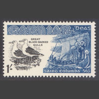Carn Iar (Summer Isles) 1962 Birds and St Columba (1s - single value, U/M)