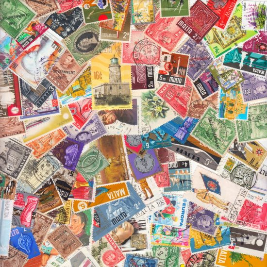Malta - Collection of 100 Different Stamps