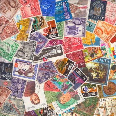 Malta - Collection of 50 Different Stamps