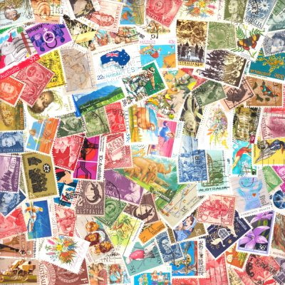 Australia - 100 Different Used Stamps
