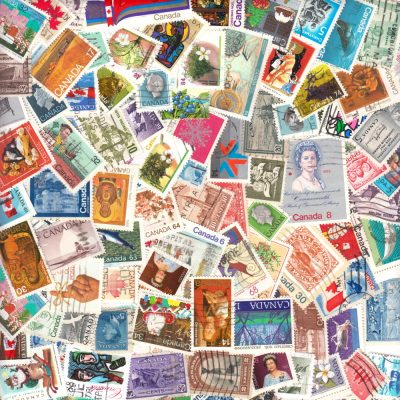 Canada - 100 Different Used Stamps