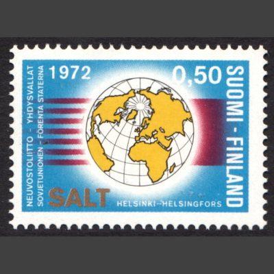 Finland 1972 Conclusion of the Strategic Arms Limitation Talks, Helsinki (SG 793, U/M)