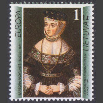 Lithuania 1996 Europa - Famous Women (SG 611, U/M)