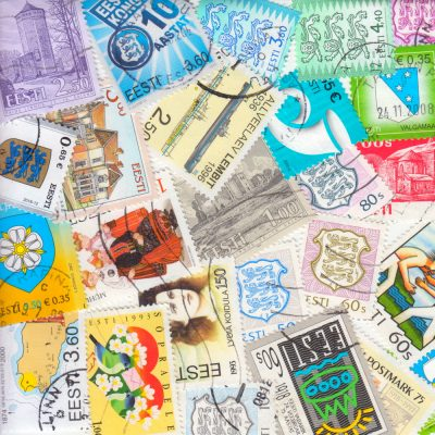 Estonia - Collection of 25 Different Modern Used Stamps