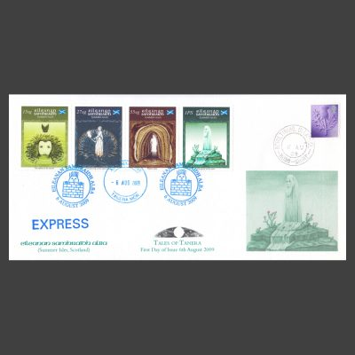 Summer Isles 2009 Tales of Tanera First Day Cover (FDC 4v, 15sg to 1PS)