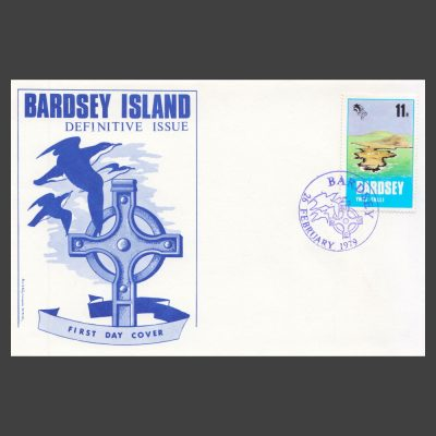 Bardsey 1979 11p Definitive on First Day Cover (FDC)