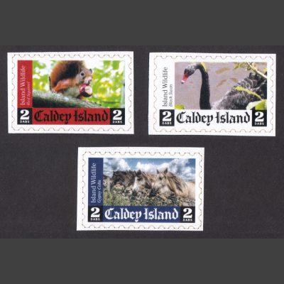 Caldey Island 2018 Island Wildlife (3x 2 Dabs, U/M)