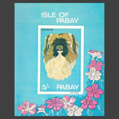 Pabay 1969 Dogs Sheetlet (5s, U/M)