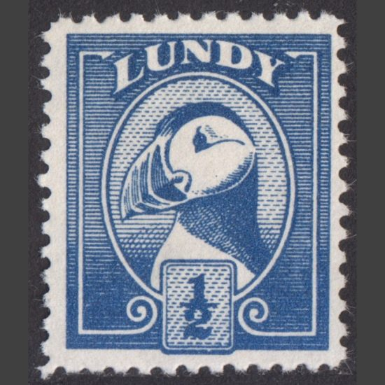 Lundy 1978 ½p Puffin Bust Definitive (U/M)