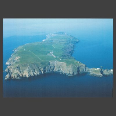 Postcard - Lundy Aerial View, c.1980s