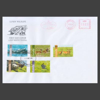 Lundy 2010 Lundy Wildlife First Day Cover (FDC)