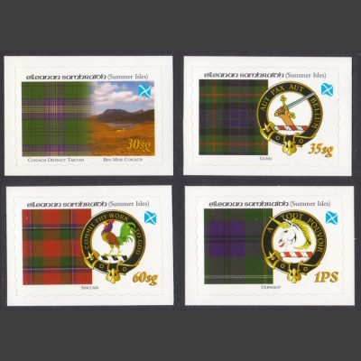 Summer Isles 2010 Tartans of the Far North - Third Issue (4v, 30sg to 1PS, U/M)