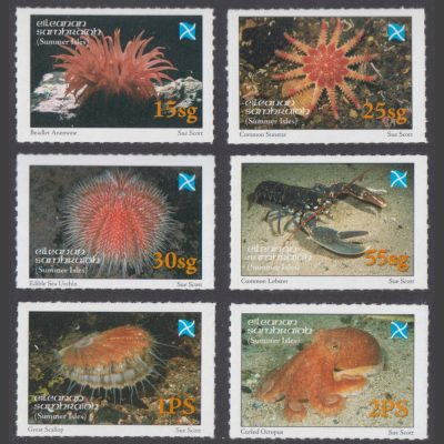 Summer Isles 2006 Creatures of the Sea-Bed (6v, 15sg to 2PS, U/M)