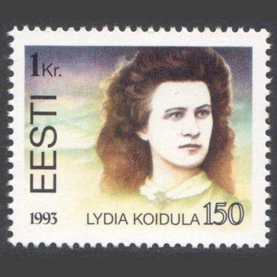 Estonia 1993 150th Birth Anniversary of Lydia Koidula (SG 230, U/M)