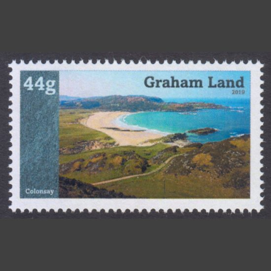 Graham Land 2021 Islands of the United Kingdom - Colonsay Reprint (44g, U/M)