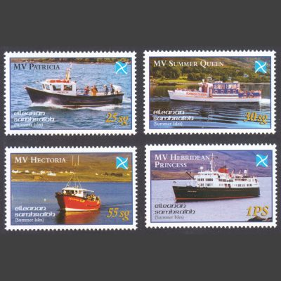 Summer Isles 2003 The Sea Road to the Isles (4v, 25sg to 1PS, U/M)