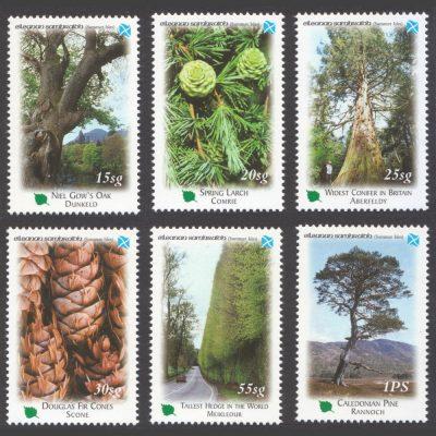 Summer Isles 2001 Perthshire - Big Tree Country (6v, 15sg to 1PS, U/M)