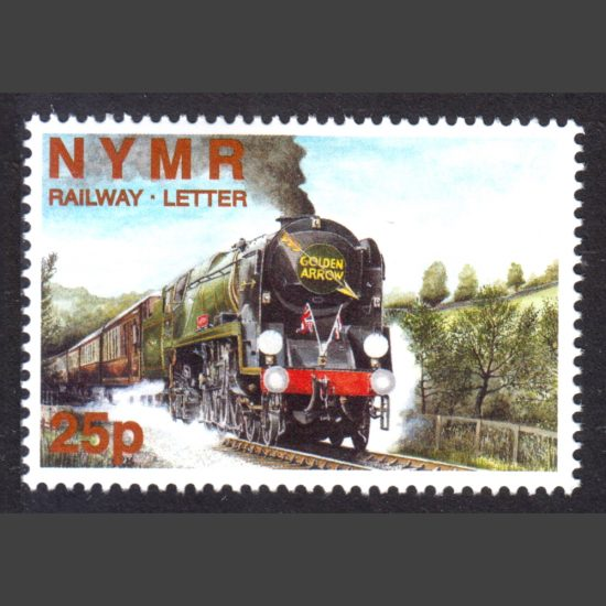 North Yorkshire Moors Railway 1999 25p Captain Cook Pullman Dining Train (U/M)