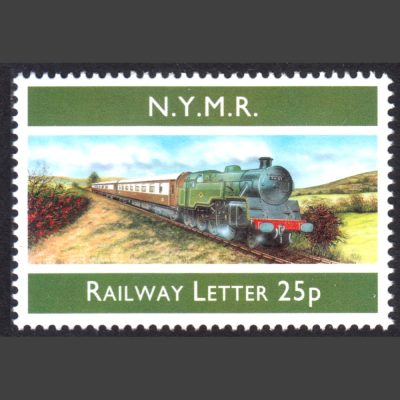 North Yorkshire Moors Railway 1998 25p Rebuilding of BR Class 4MT No. 80135 (U/M)