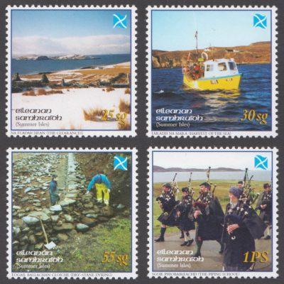 Summer Isles 2004 Tìr a' Ghàidheil - Land of the Gael (4v, 25sg to 1PS)