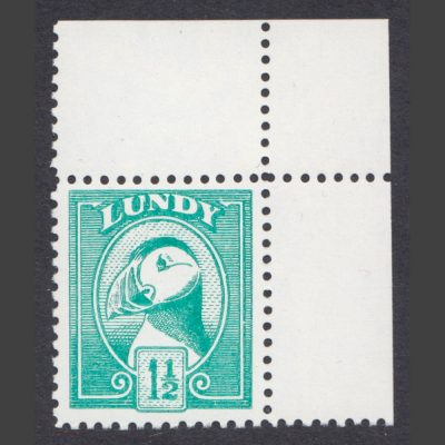 Lundy 1977 1½p Puffin Definitive Unissued Essay (U/M)